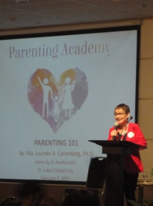 Dr.Carandang's Plenary talk on Parenting