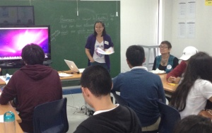 MLAC team member Olive shares her group's discussion and their artworks.