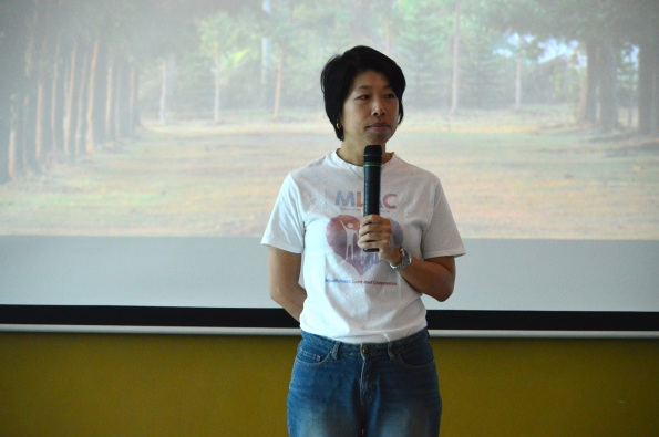 MLAC team member Riza Ng was the host for the event.