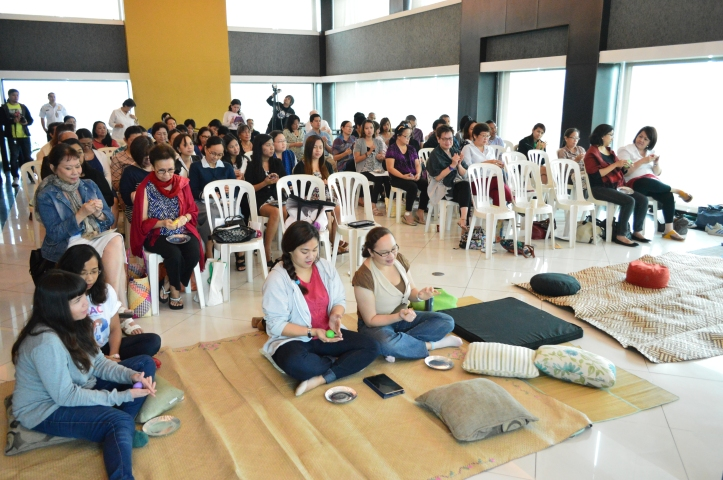 The participants of the Mindfulness talk.