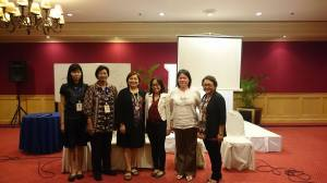 Group picture with co-presentors in the Parenting Symposia and Session Chair Dr. Grace Aguiling-Dalisay.