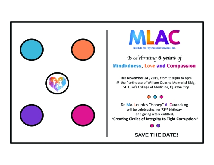 5th mlac anniv invite