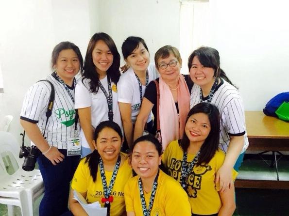 MLAC interns with MLAC
