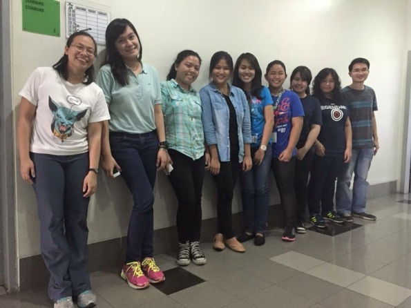 MLAC interns with practicum supervisors