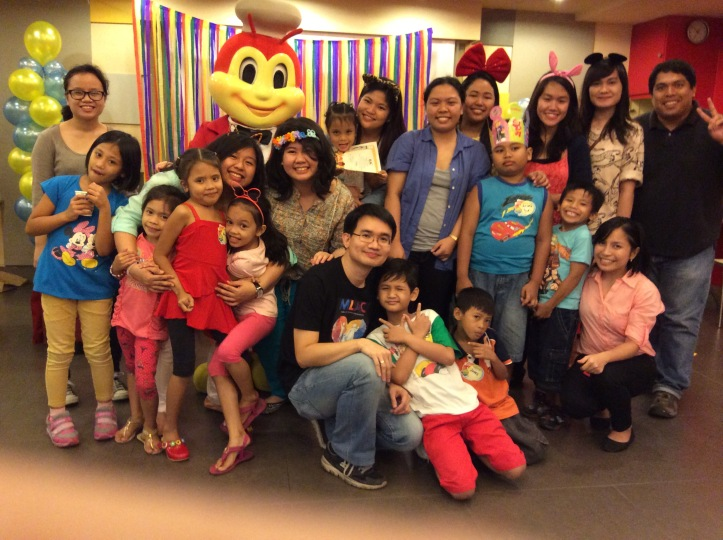 grp pic with jollibee