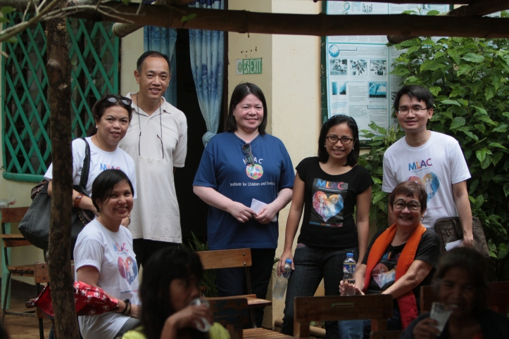 The MLAC team with Sir Walter Cheng (father of Walter Cheng)